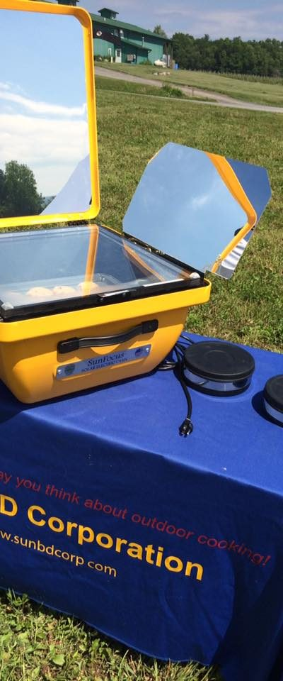 Solar Cooking - Solar Electric Oven