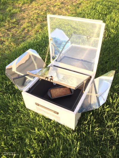 The new UGLI™ hybrid solar electric oven