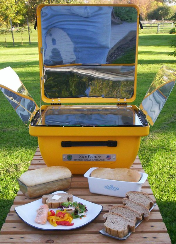 Solar cooking picture